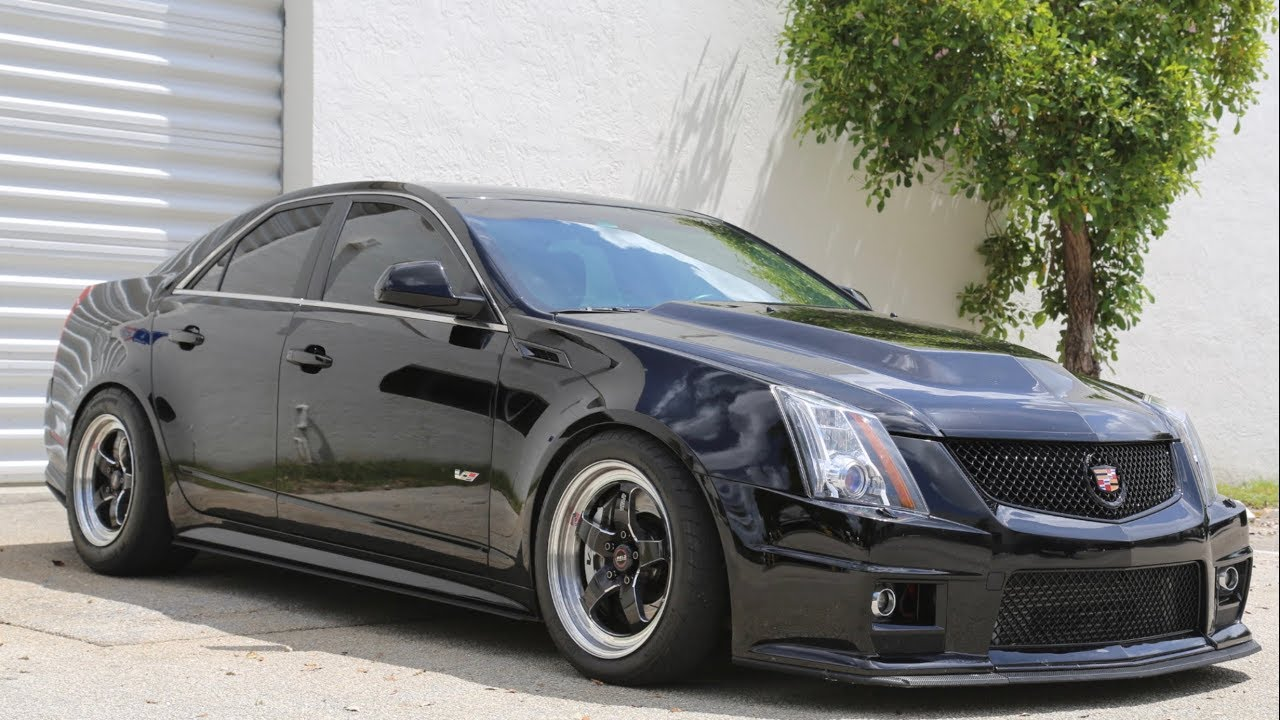 POV Ride Along – 750HP Cadillac CTS-V