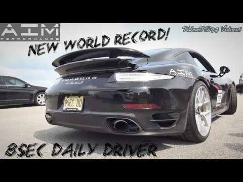 Porsche 991 PDK Turbo S – Quarter-Mile World Record