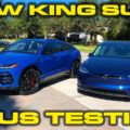 Lamborghini Urus Launch Control 0-60 MPH and 1/4 Mile Testing