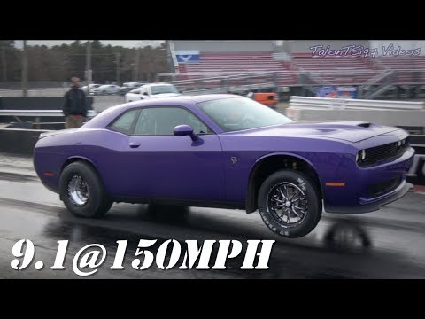 9-Second Stock Challenger Hellcat