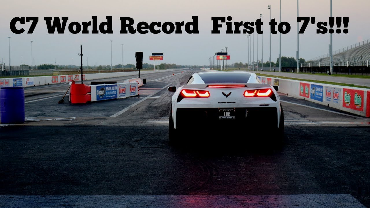First C7 Corvette to a 7-Second Quarter-Mile