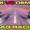 Dodge Demon vs Acura NSX