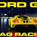 new Ford GT 1/4 Mile