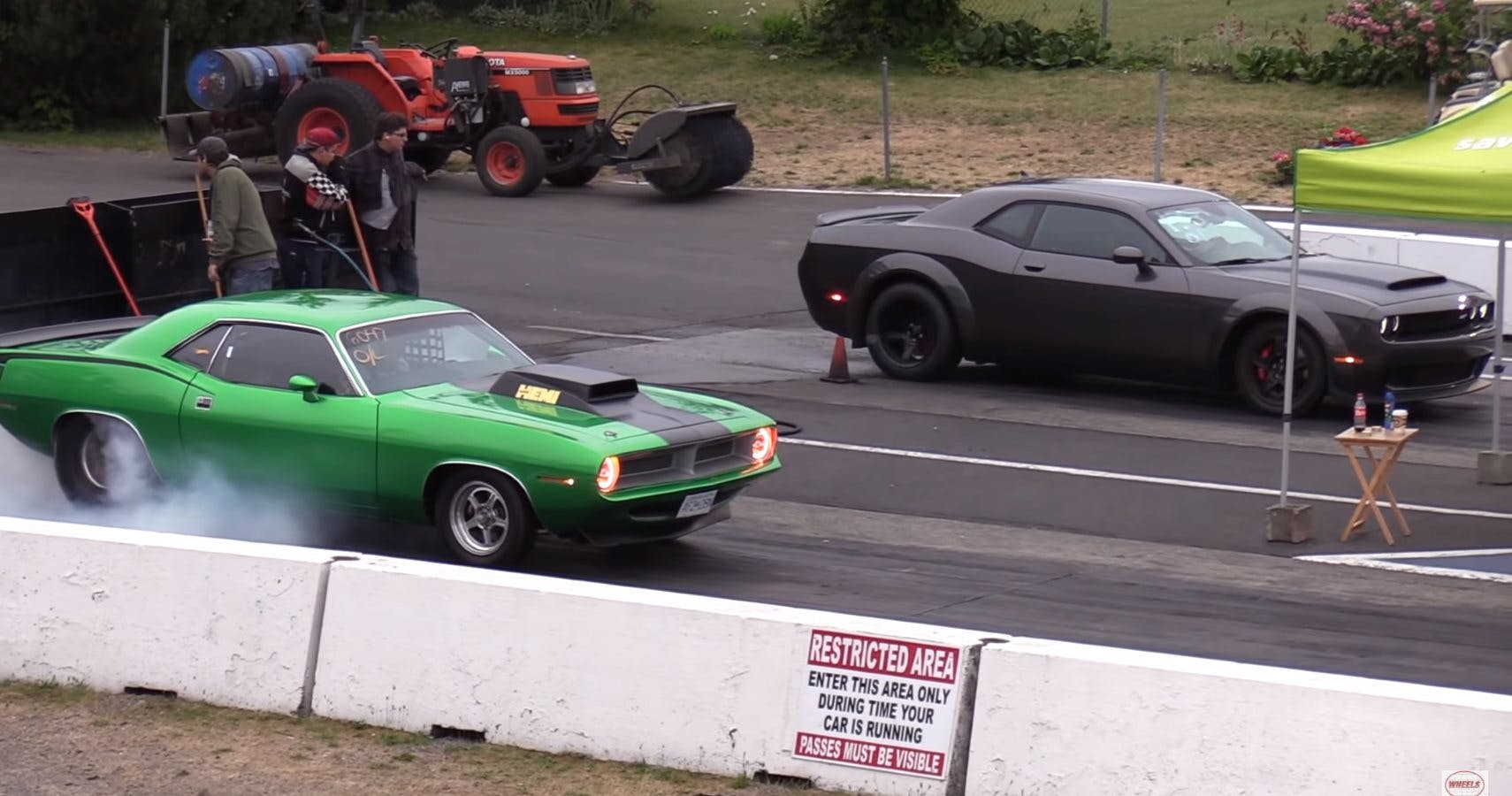 Old Muscle Car Quarter Mile Times