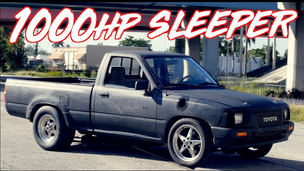 1000HP Turbo 2JZ Toyota Pickup – Ride Along Street Hits