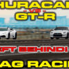 NIssan GT-R vs Lamborghini Huracan