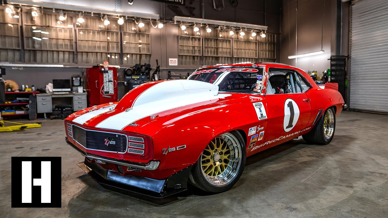 266 MPH BIG RED Camaro – Inside the Build