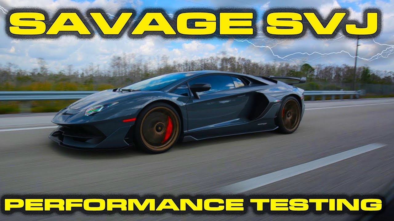 Aventador SVJ Review