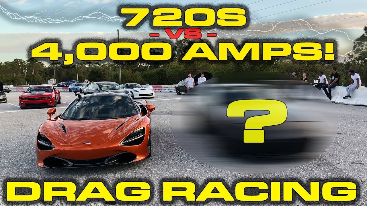 McLaren 720S vs Electric Porsche 944
