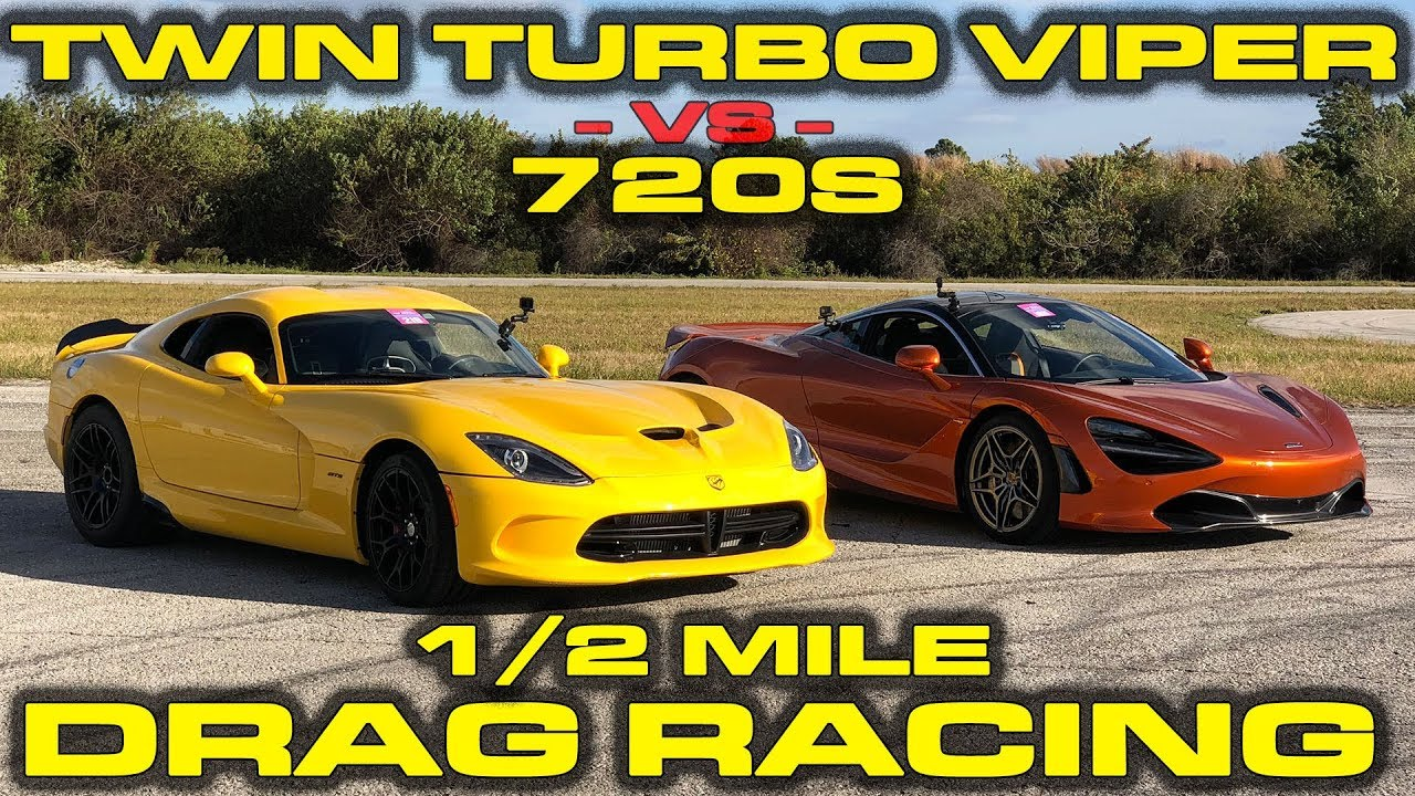 Twin Turbo Viper vs McLaren 720s