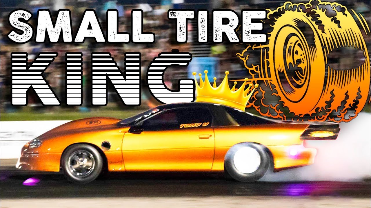 3000HP Camaro Dominates Small Tire No Prep