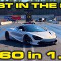 McLaren 720S in the 8s 1/4 Mile