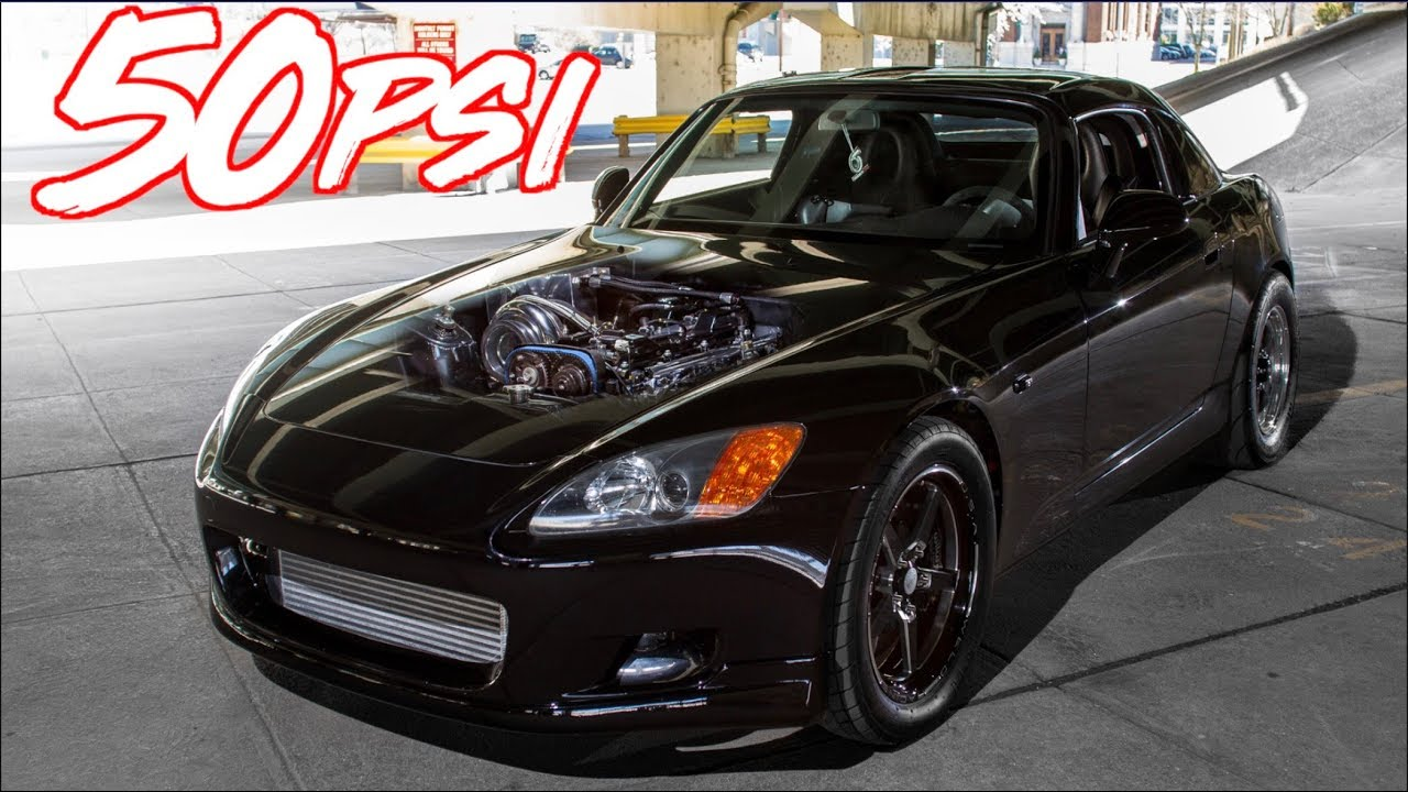 1400HP Honda S2000 – Ride Along Street Hits