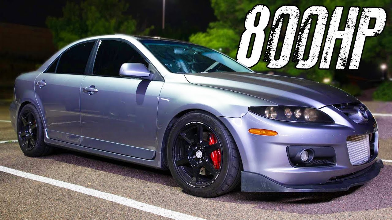 800HP MazdaSpeed6 – Street Hits