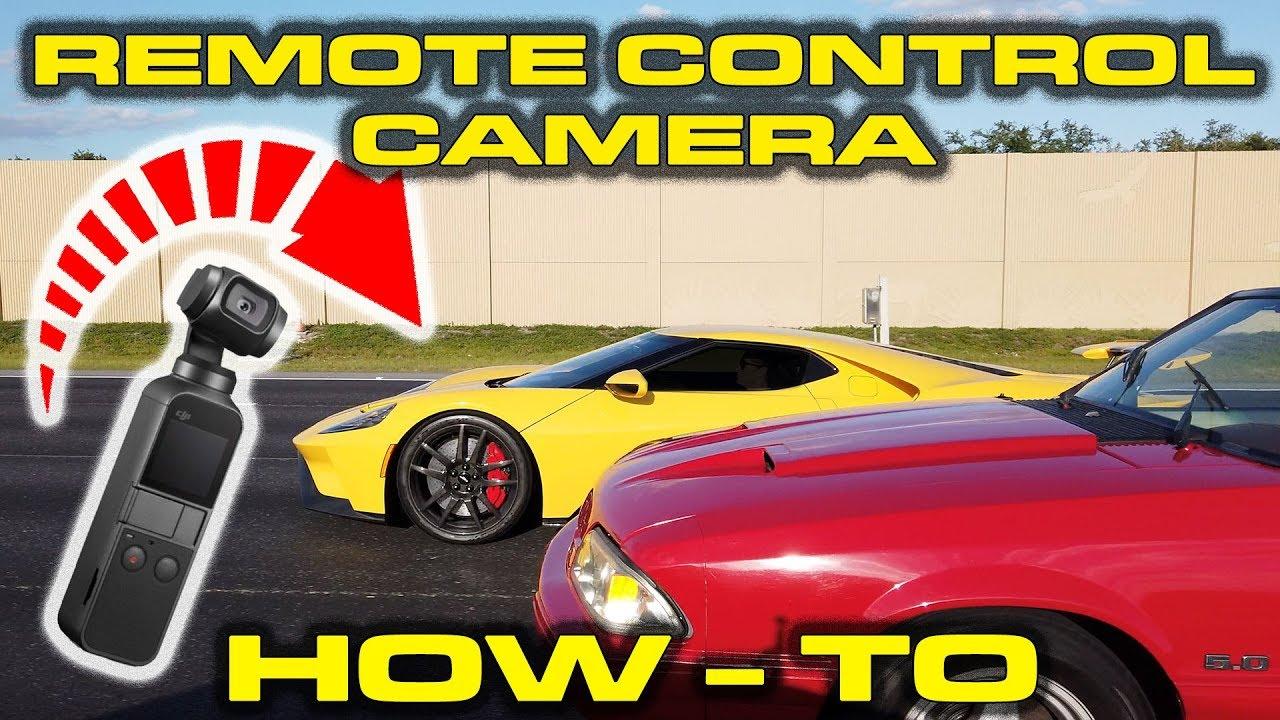 DJI Osmo Pocket * Tesla Autopilot recording new 2018 Ford GT
