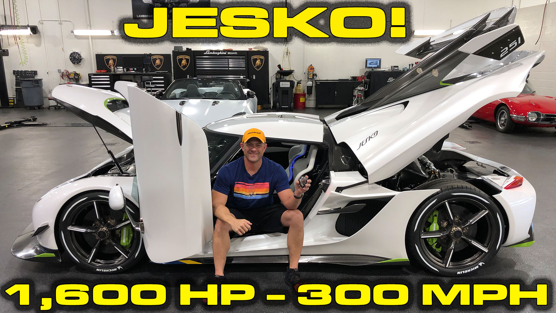 Inside look at the 1,600HP – 300 MPH Koenigsegg Jesko