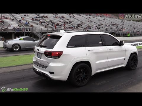 10-Second Jeep Trackhawk – Roll and Dig Racing