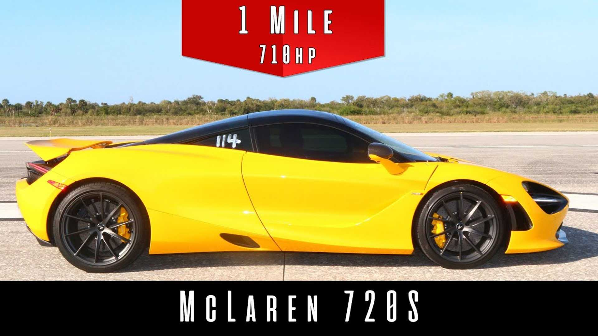 2019 McLaren 720S – One-Mile Top Speed