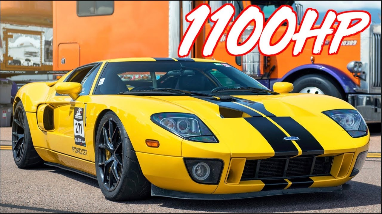 Half-Mile Pikes Peak – 1100HP Twin Turbo Ford GT