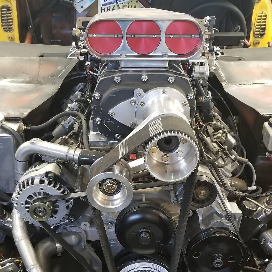 Junkyard Dog – Pontiac Firebird on AWD GT-R Chassis | DragTimes com