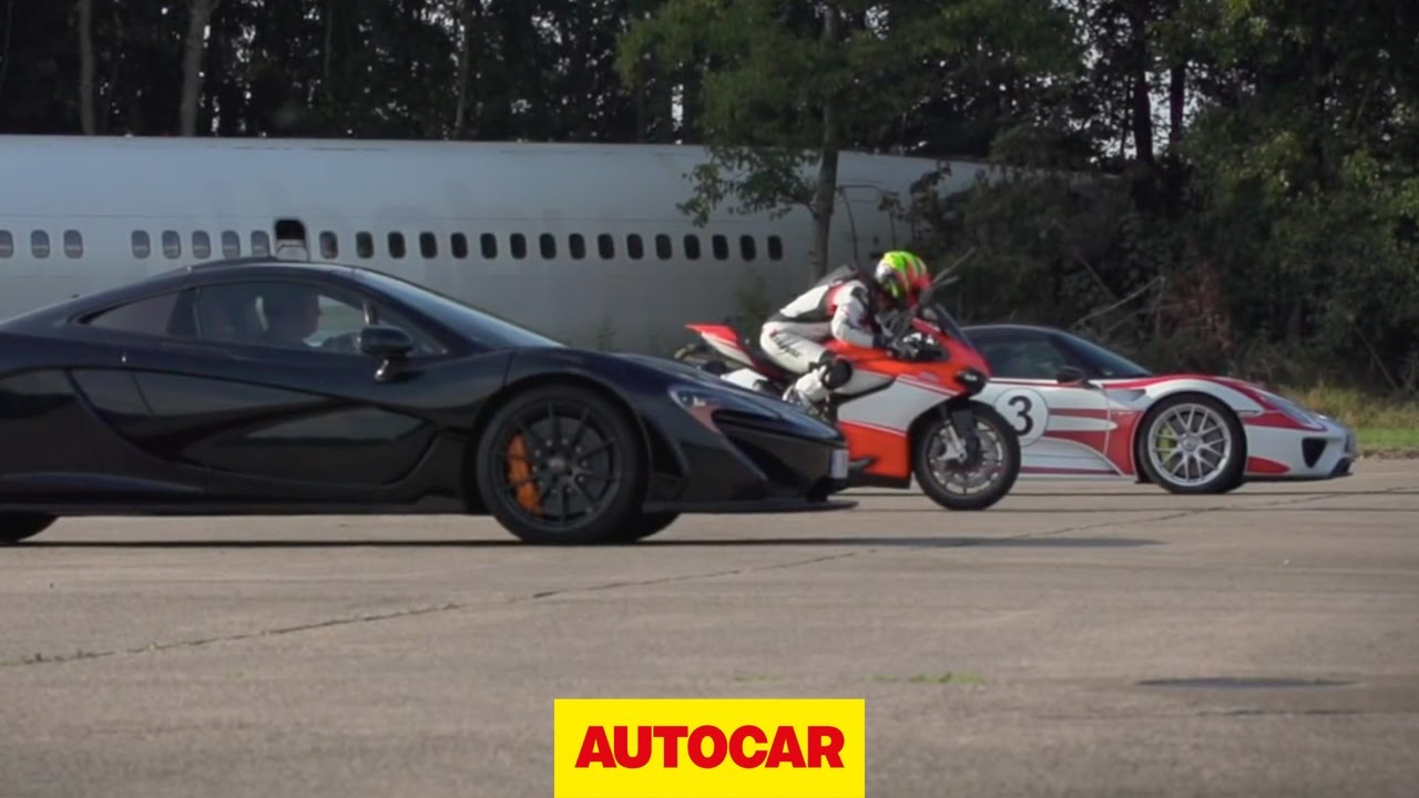McLaren vs. Porsche vs. Ducati – Standing Mile
