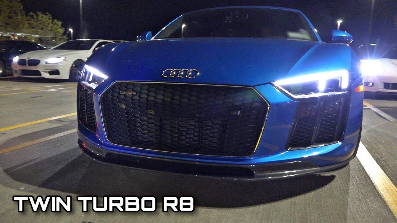 Street Hits – TT Audi R8 vs. Procharged Corvette Z06