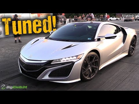 10-Second Acura NSX – Track Dig and Roll
