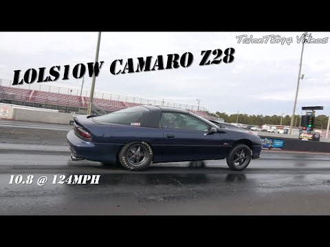 10-Second Chevrolet Camaro Z28 – Track Digs