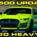 2020 GT500 Weight