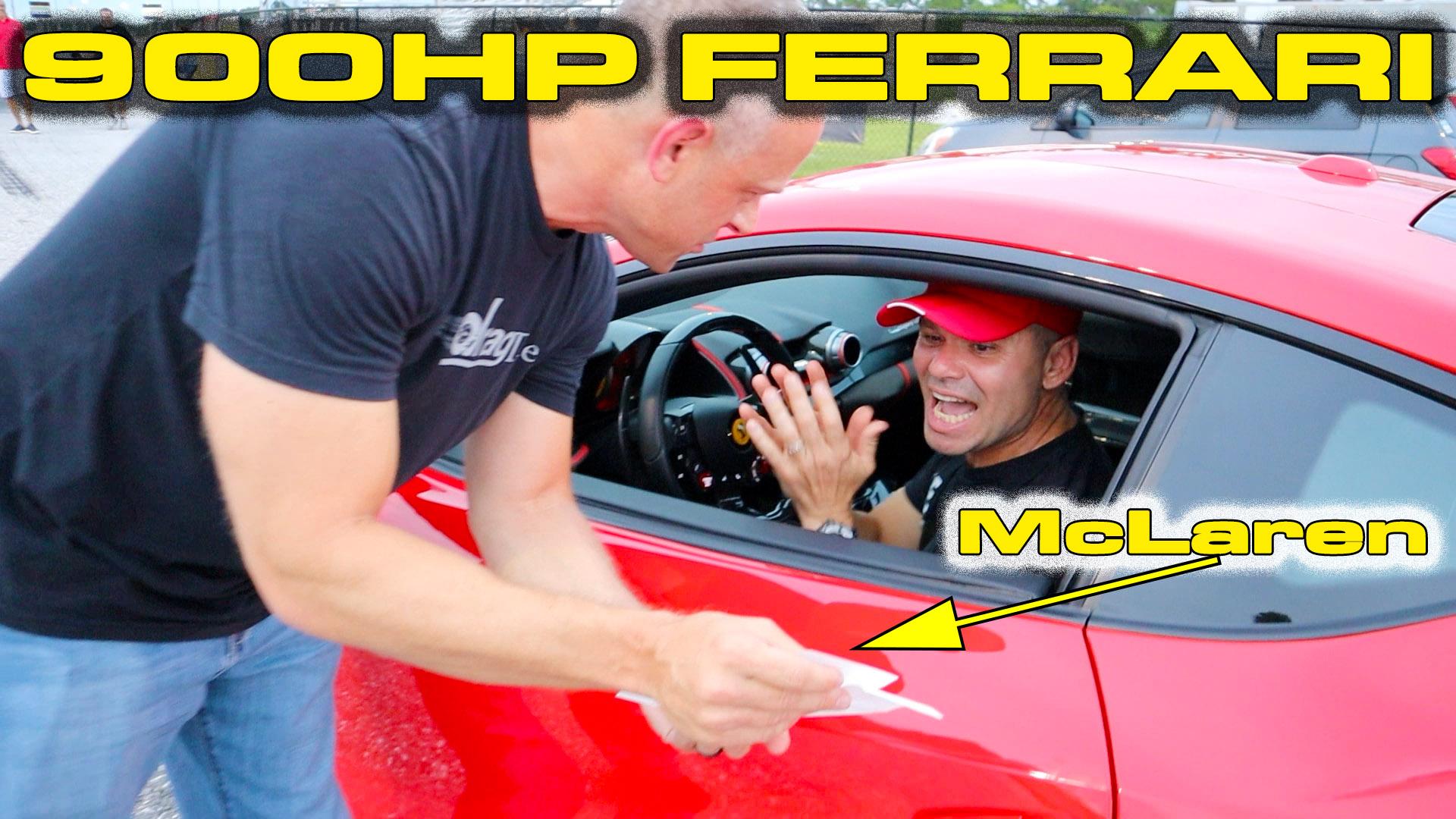 900HP 6.5L V12 Ferrari 812 Superfast Testing