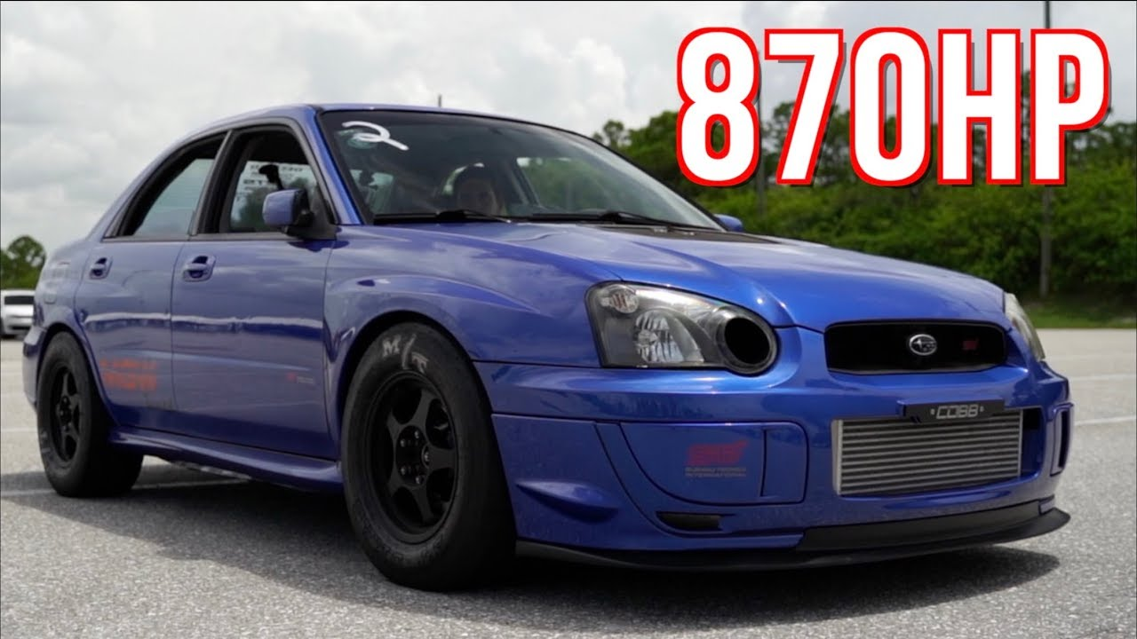 900HP Subaru – Journey to the 8-Second Quarter-Mile