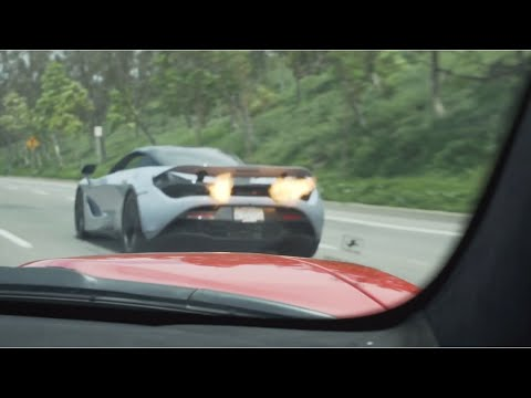 Street Hits – Ferrari 488 Pista vs. Mclaren 720S and Audi R8