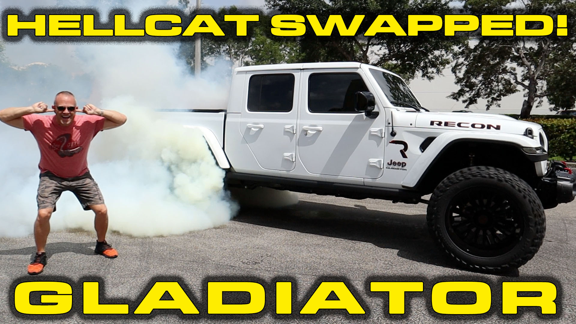 HELLCAT SWAPPED GLADIATOR * 750+ HP Jeep Gladiator Review and Performance Testing