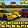 Ford GT vs McLaren 720S