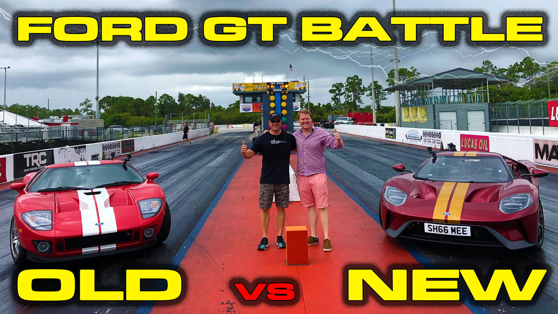 New vs old Ford GT Racing