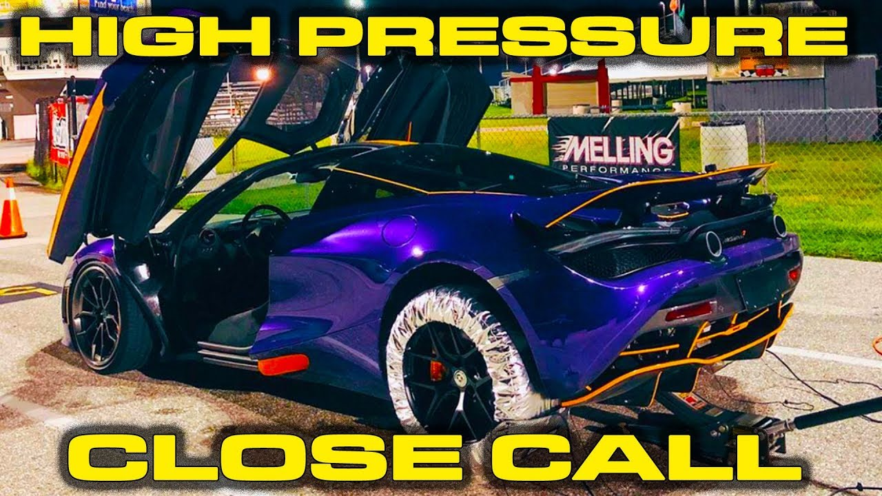 1,000 HP McLaren 720S Wheel/Tire Drag Strip Test & Milwaukee M12 Inflator Review