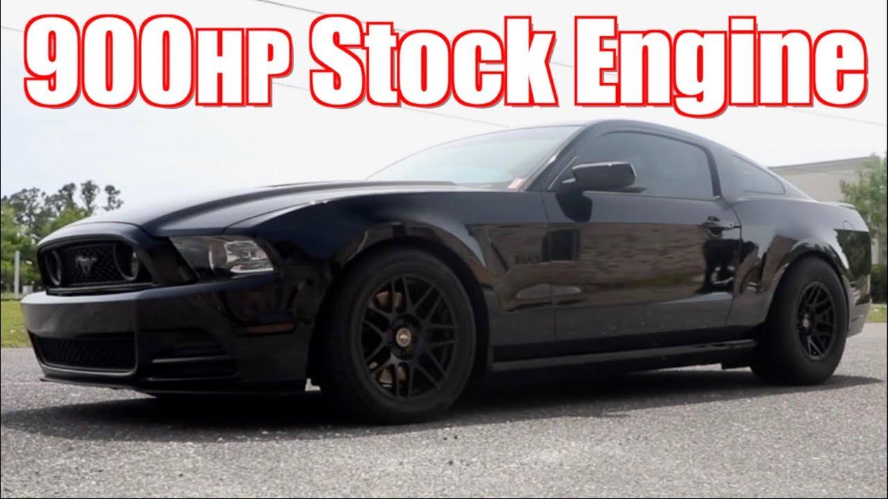 900HP Stick Shift Mustang GT – Street Hits Ride Along