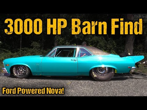 Ford Swapped Nova – 3000HP Menace