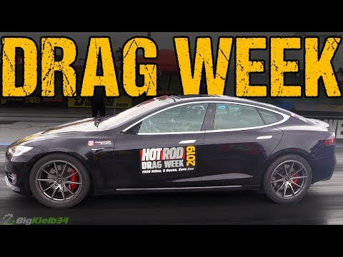 Tesla Tackles Hot Rod Drag Week 2019