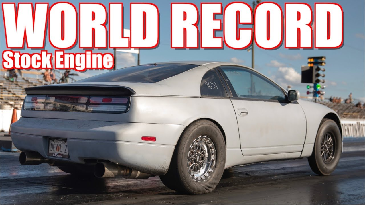 Twin Turbo 300Z is Worlds Quickest