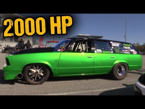7-Second Grocery Getter – Worlds Quickest Wagon