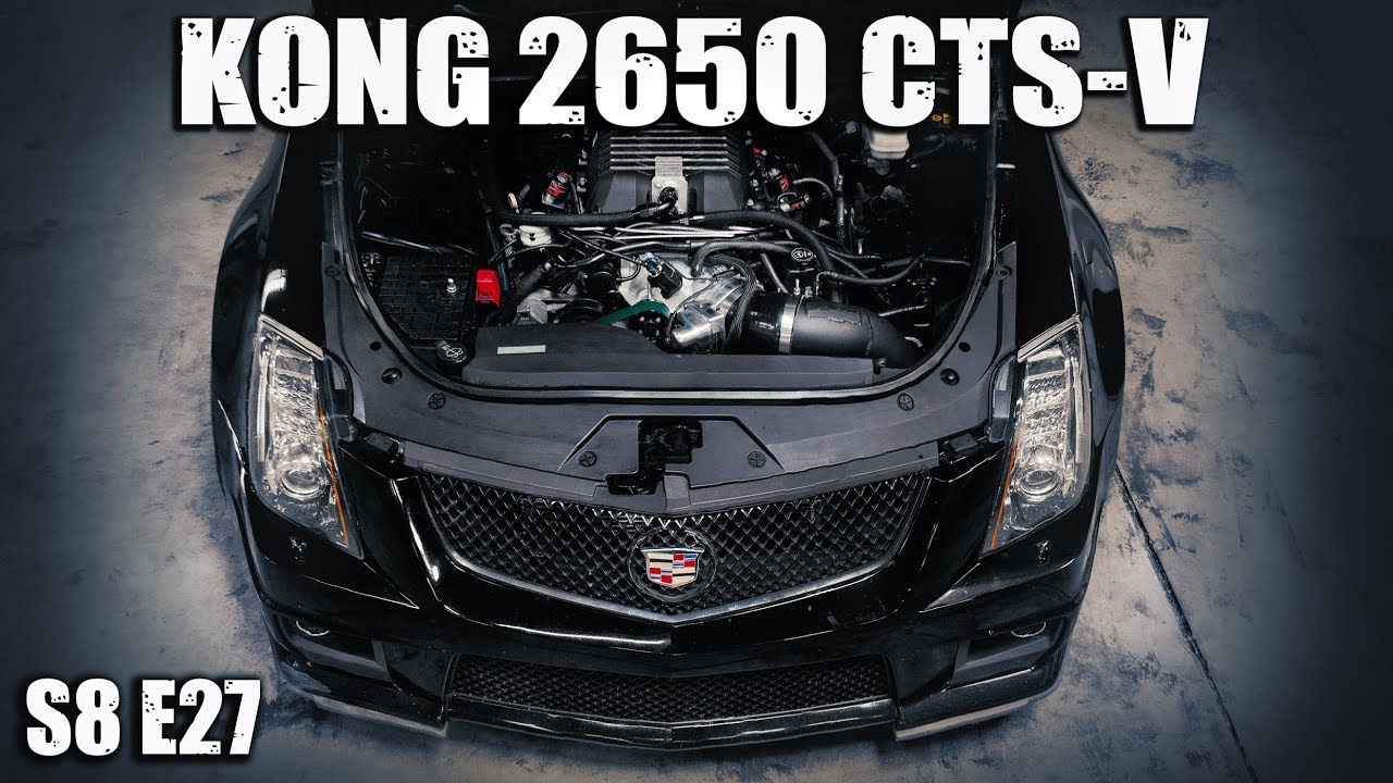 CTS-V Kong Blower Swap – Dyno, Street and Strip
