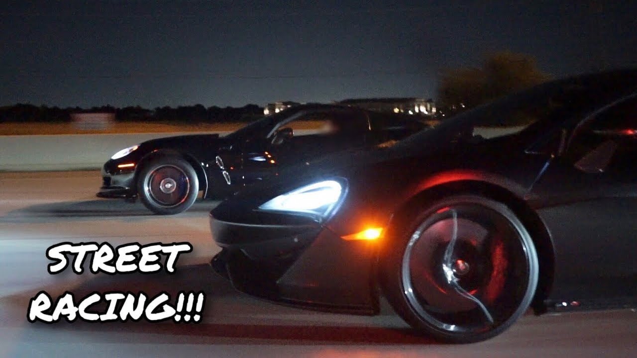 Corvette ZR1 vs. McLaren 570S – Street Hits