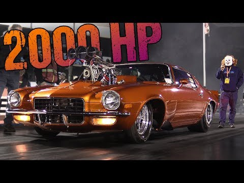 Crazy Classic Camaro – Supercharged Monster