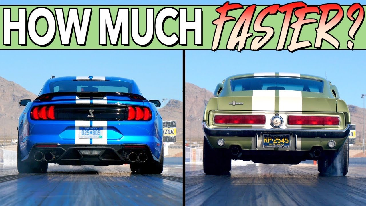 Old vs. New – Mustang Shelby GT500
