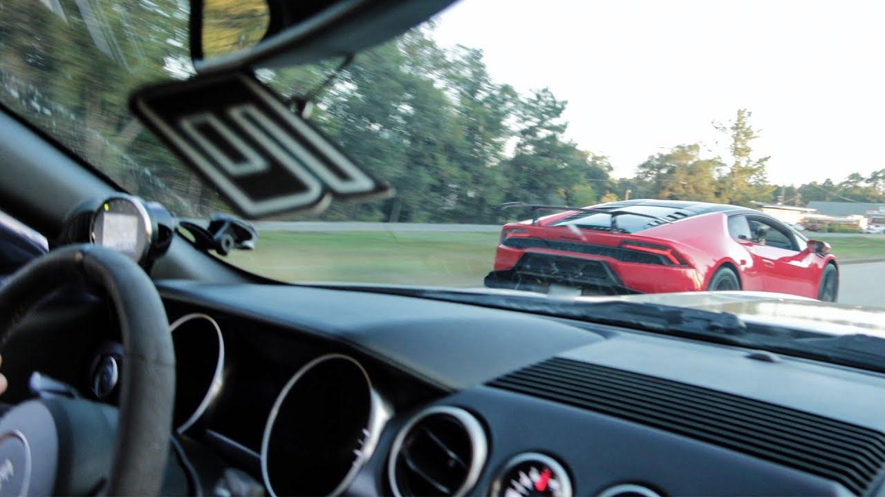 TT Mustang GT350 vs Corvette, Hellcat and Lamborghini – Street Hits