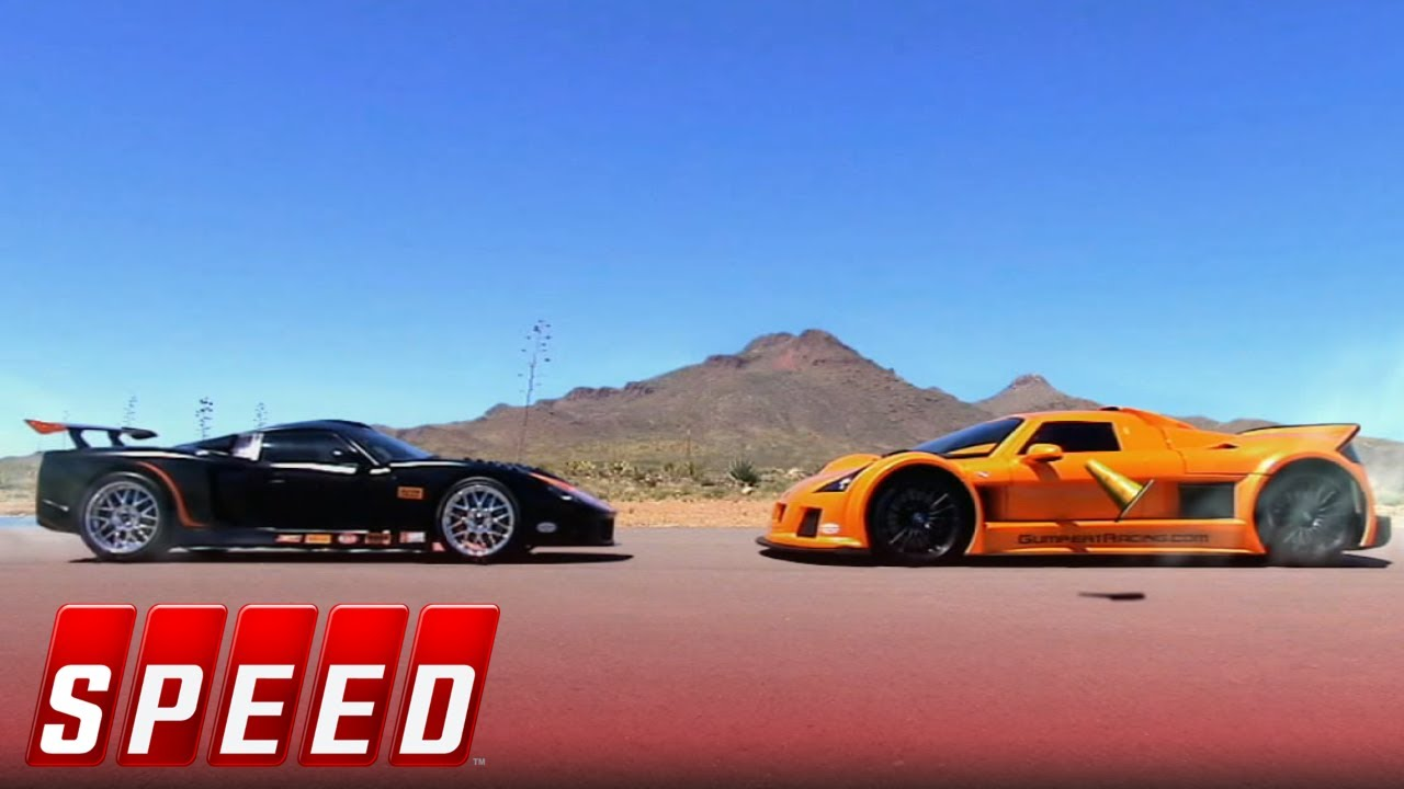 Mid-Engine Madness – Lamborghini Gallardo vs Ford GT