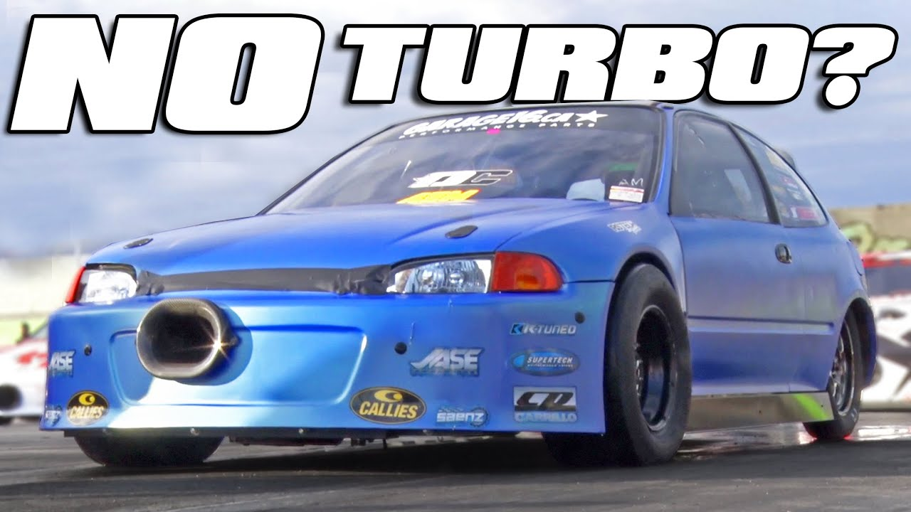 600HP All-Motor Honda Civic – 8-Second Quarter Mile