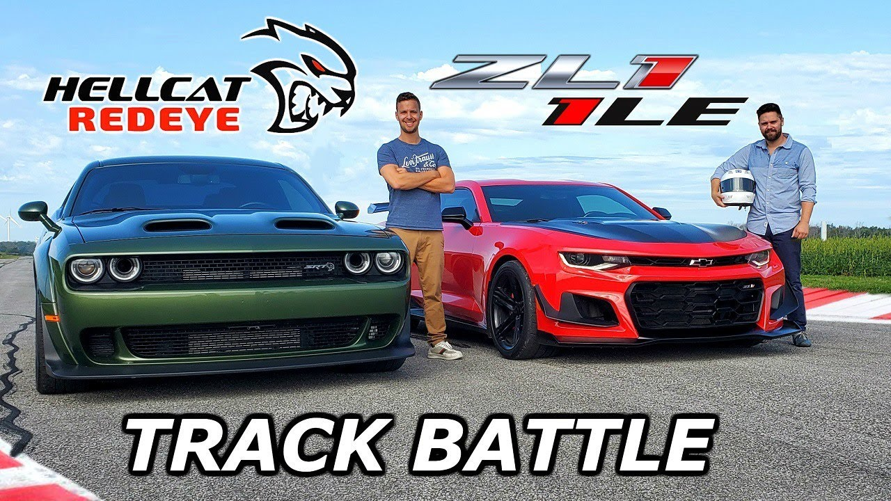 Dodge Challenger Hellcat Redeye vs. Chevy Camaro ZL1 1LE