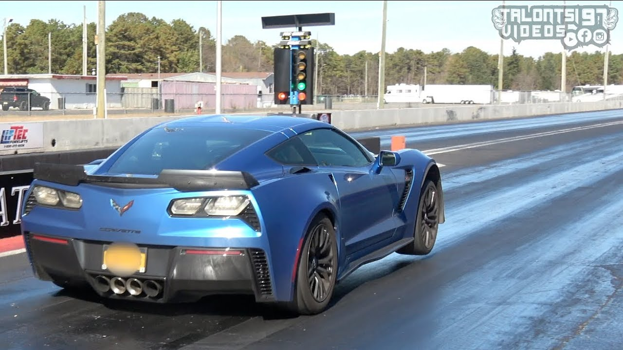 Stick Shift Corvette Z06 – 10-Second Quarter Mile